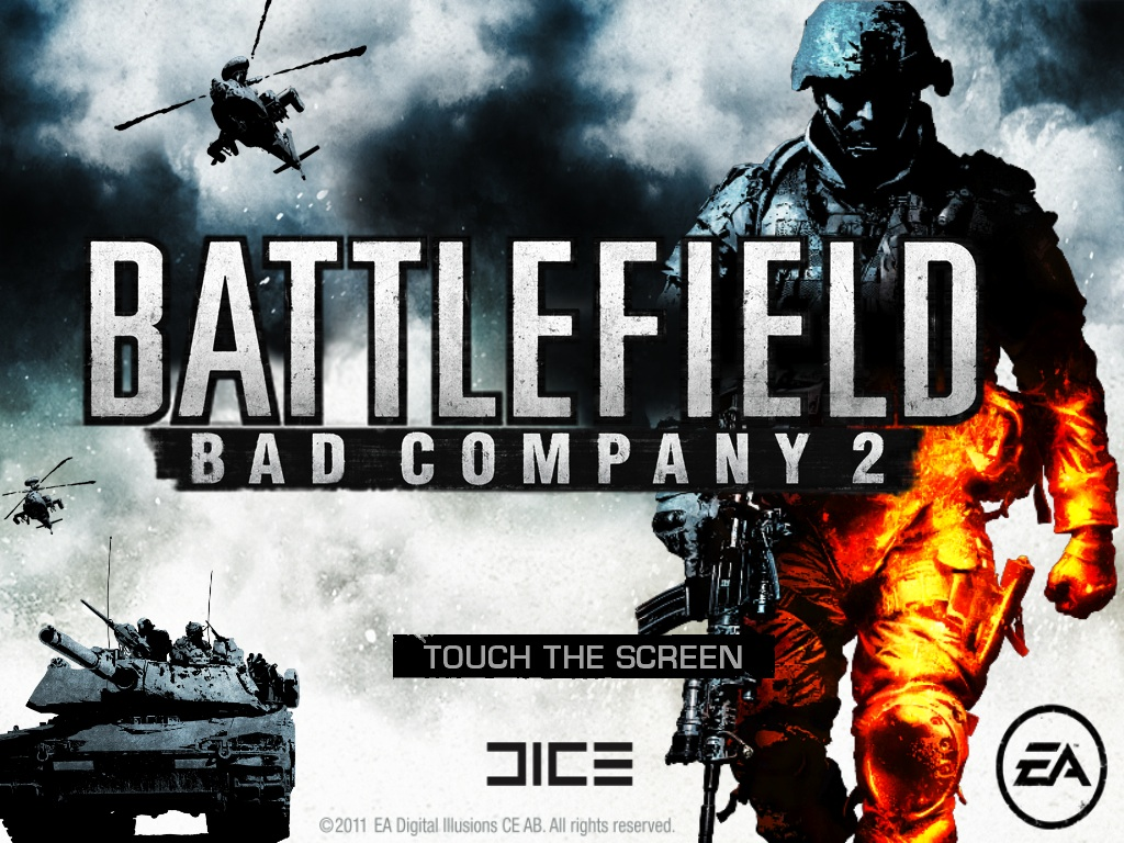 Battlefield: Bad Company 2 iPad