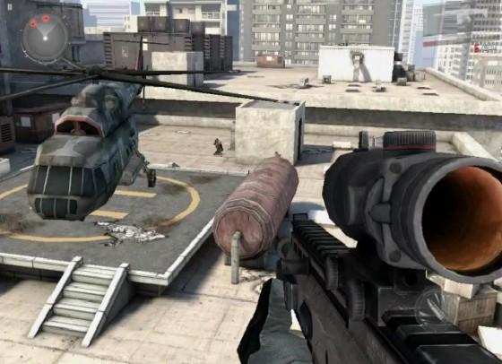 Скриншот 3 к игре Modern Combat 3: Fallen Nation.