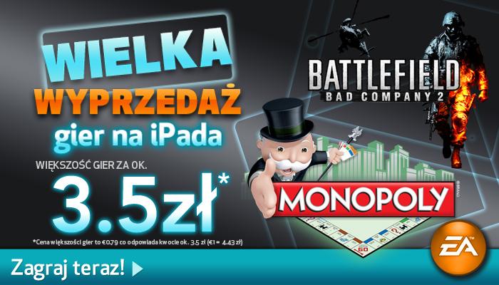 Promocja gier EA na iPada