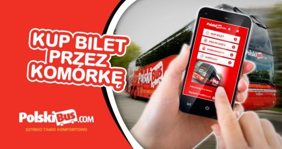 Mobilna strona Polski Bus