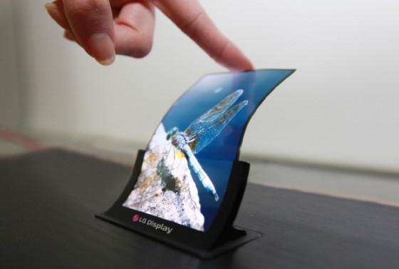 Giętki wyświetlacz OLED od LG