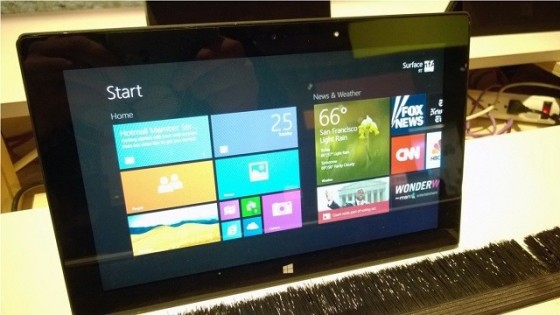 Windows 8.1 RT Preview na Microsoft Surface