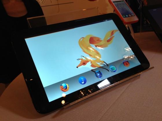 Tablet z Firefox OS