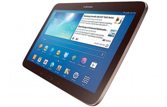 Samsung Galaxy Tab 3 10.1 - brązowy