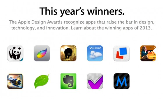 WWDC Apple Design Awards