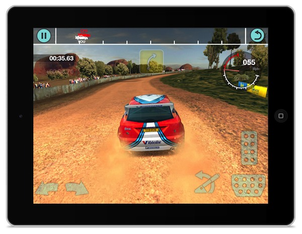 Colin McRae Rally na iPada