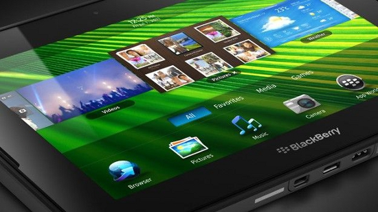 Playbook Tablet