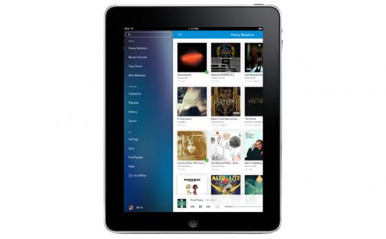 Rdio dla iPada