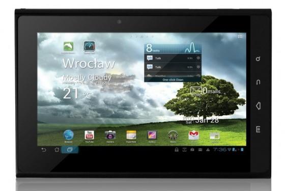 Tablet z tunerem TV - tPAD-7222