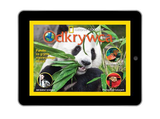 Aplikacja National Geographic Odkrywca dla iPada