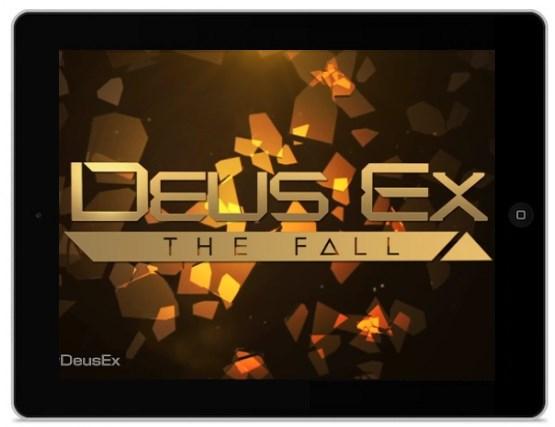 Deus Ex: The Fall na iPada