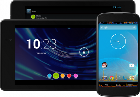 Android 4.3 - Devices