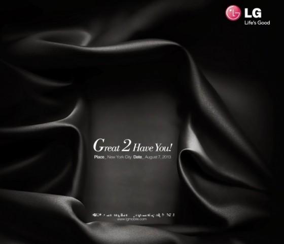 LG G2 - zaproszenie