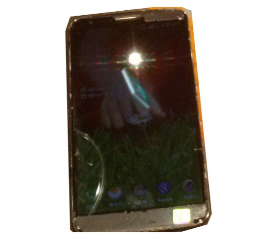LG G2 - przód