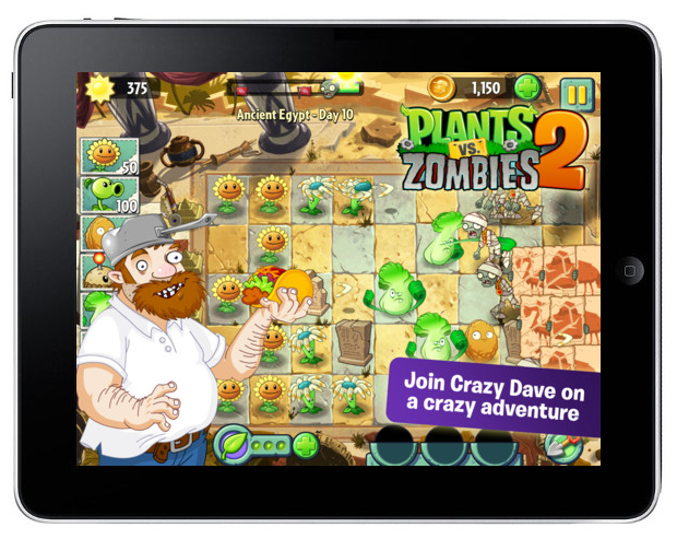 Gra Plants vs. Zombies 2