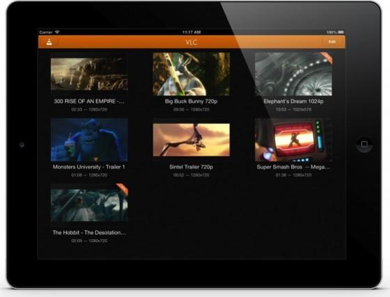VLC media player na iOS