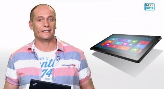 Piotr Zelt prezentuje Lenovo ThinkPad Tablet 2