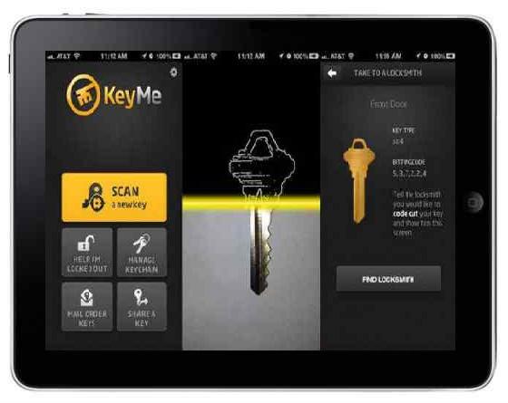 KeyMe dla iOS