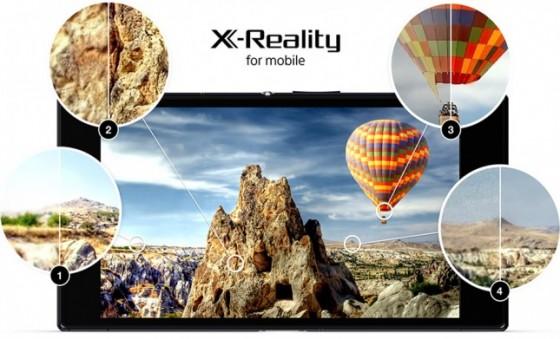 Sony X Reality dla Xperii Ultra Z