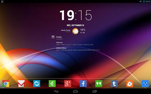 Aplikacja Chronus na Androida