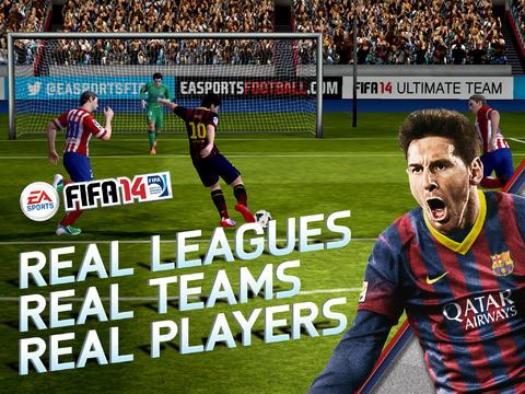 gra FIFA 14 na Androida i iOS