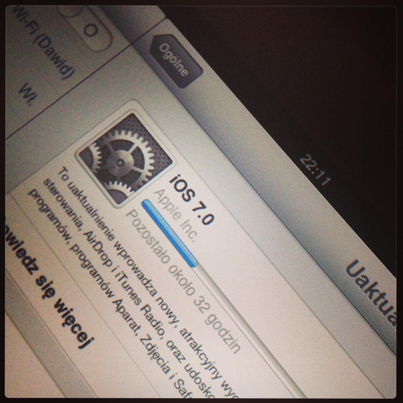 Uaktualnienie do iOS 7