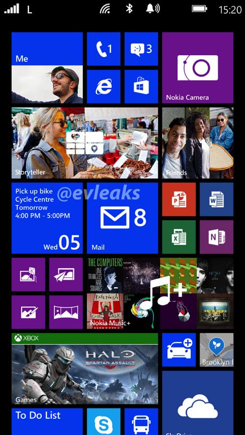 Nokia Bandit Homescreen