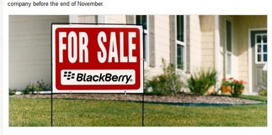 Sprzedaż BlackBerry