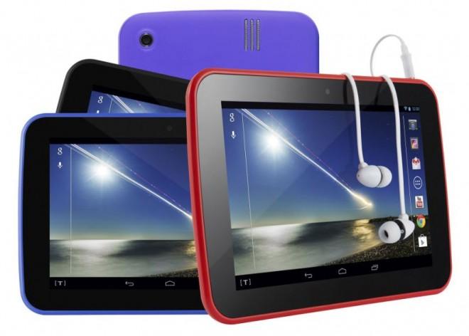 Tablet Tesco Hudl - kolory