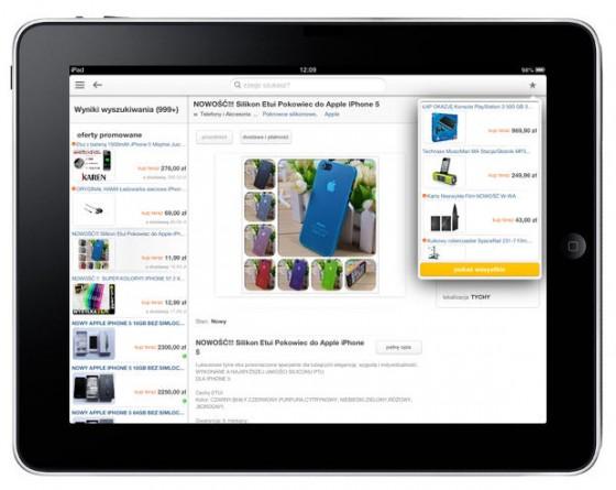 Aplikacja Allegro na iPada
