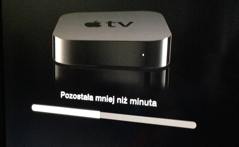 Apple TV - aktualizacja