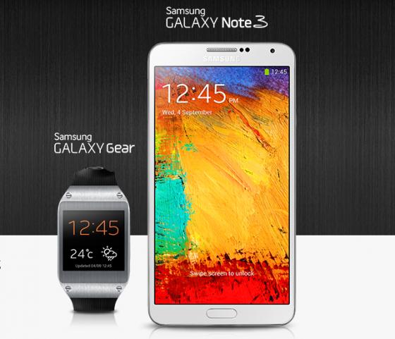 Samsung Galaxy Gear i Note 3