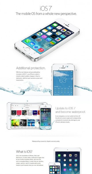 iOS i wodoodporność