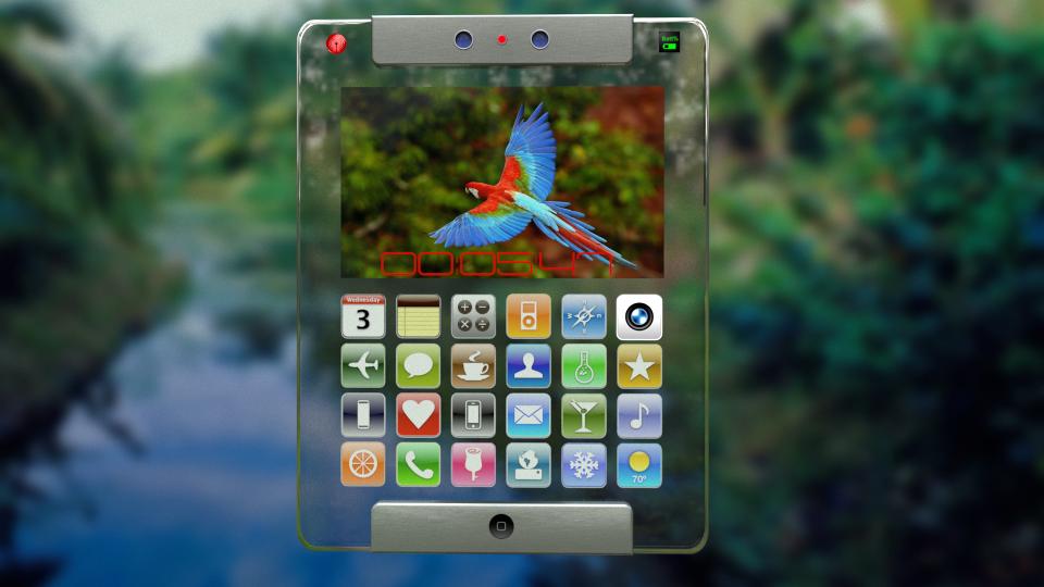 transparentny iPad 6