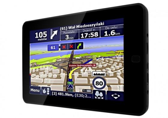 Tablet z GPS - NavRoad Movio