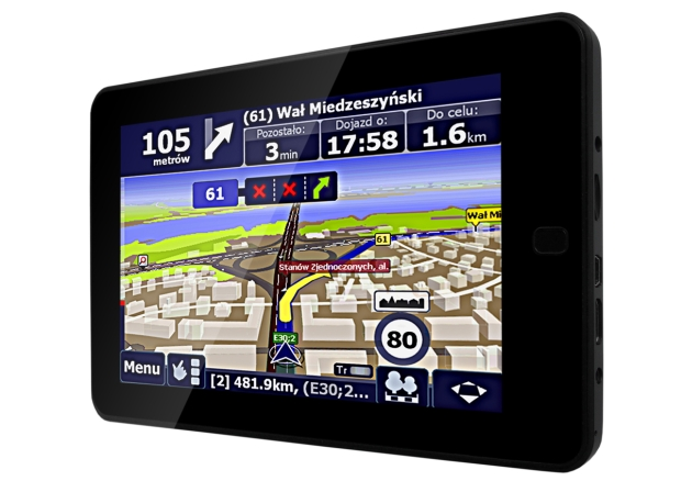 Tablet z GPS - NavRoad Movio