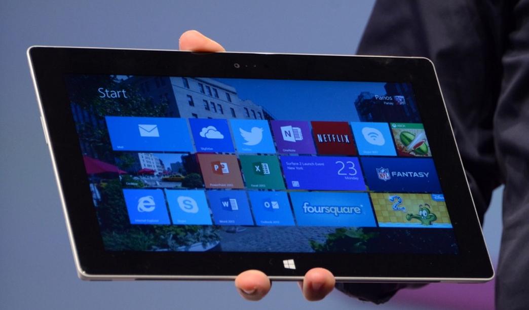Tablet Surface 2 z Windows RT