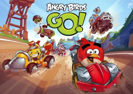 Gra Angry Birds Go!