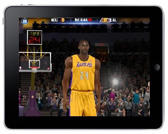 Gra NBA 2K14 na iOS