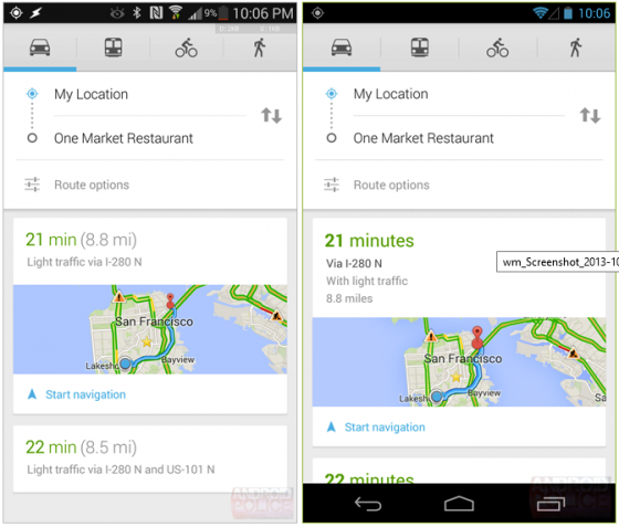 Mapy Google 7.3 03