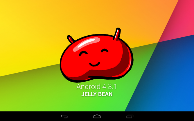 Android 4.3.1 Jelly Bean