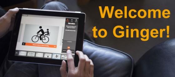 aplikacja Ginger na iPada