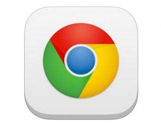 Logo Chrome na iOS