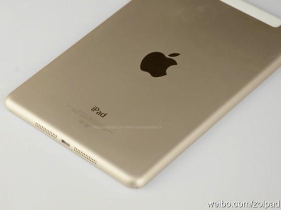 iPad mini 2 - złoty