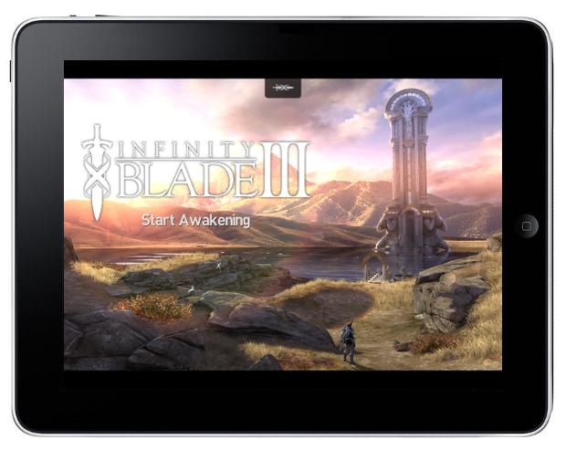 Infinity Blade III na iOS