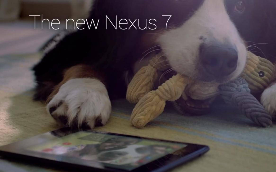 reklama Nexus 7 2013