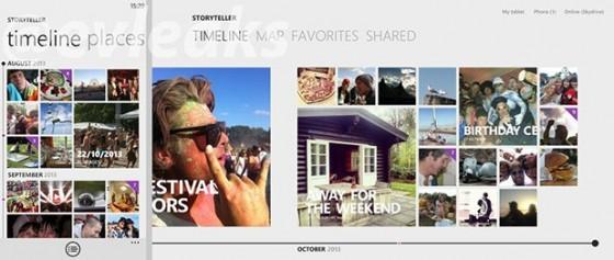Aplikacja Nokia Storyteller