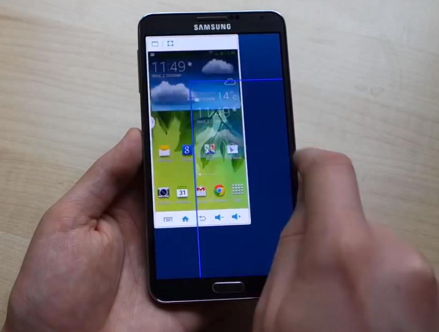 """Galaxy Note 3 - tryb 4,5"""""""