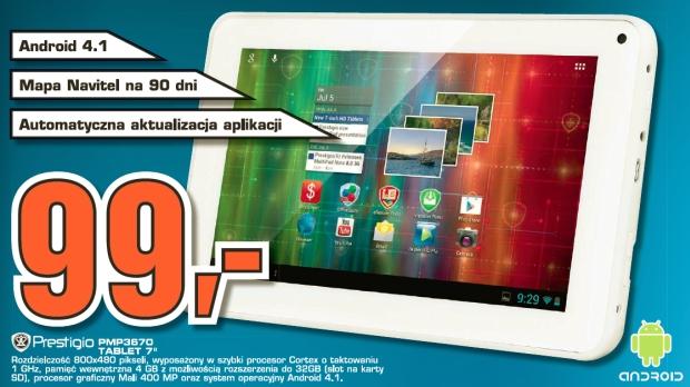 Tablet Prestigio PMP3670