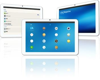 Tablet Systena z Tizen OS